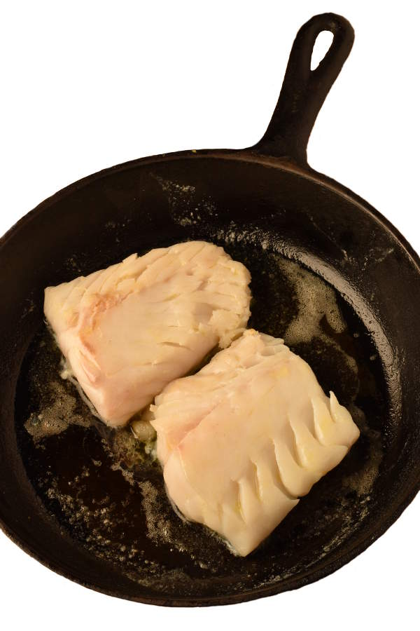 Cod with New England Clam Chowder Sauce | WednesdayNightCafe.com