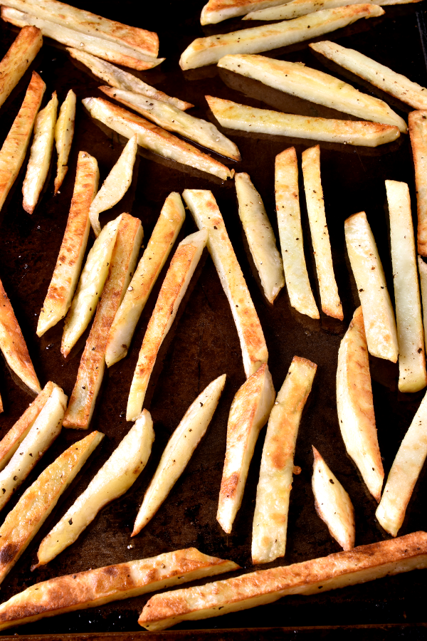 Oven Fries - Thanksgiving Sides | WednesdayNightCafe.com