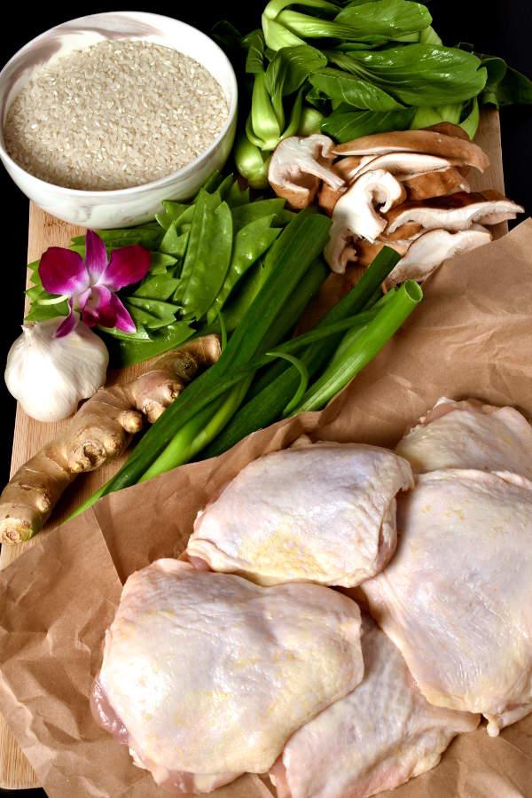 Hainanese Inspired Chicken Rice | WednesdayNightCafe.com