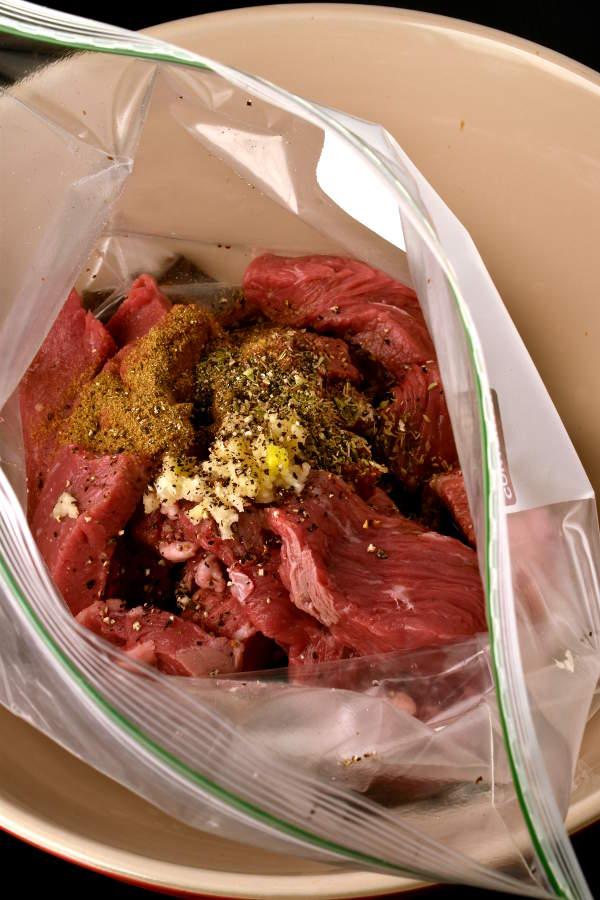 Lomo Saltado (Beef and French Fry Stir Fry)  WednesdayNightCafe.com
