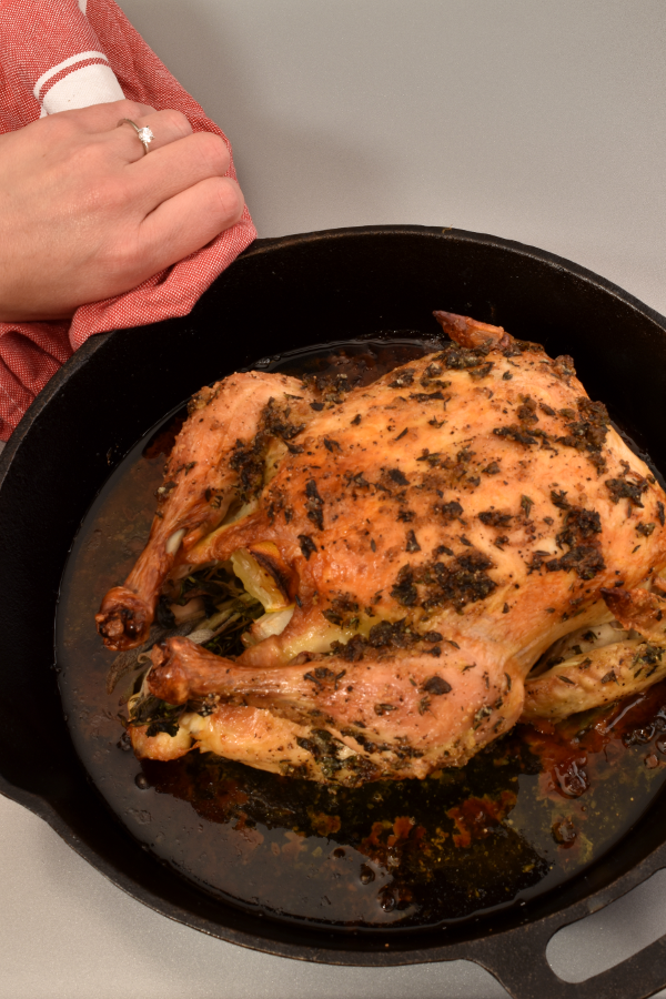 Engagement Herb Roast Chicken | WednesdayNightCafe.com