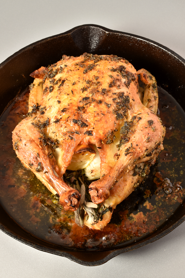 Engagement Herb Roast Chicken