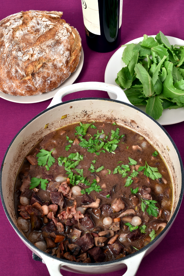 Beef Bourguignon (French Beef Stew)