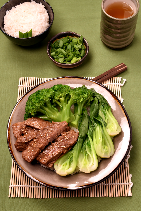 Korean Barbecue Flavor Beef Bowls