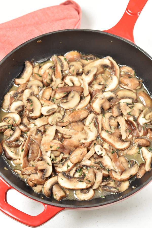 Mushroom Stuffed Shells | WednesdayNightCafe.com