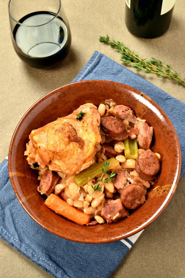 Cassoulet (French Pork and Bean Casserole)