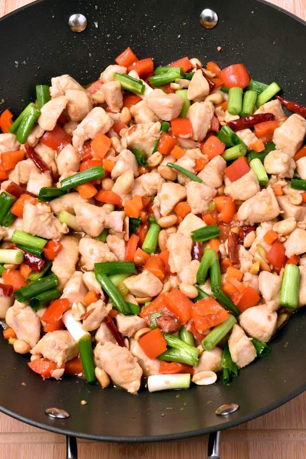 Kung Pao Chicken| WednesdayNightCafe.com