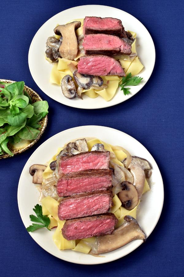 Steak Stroganoff