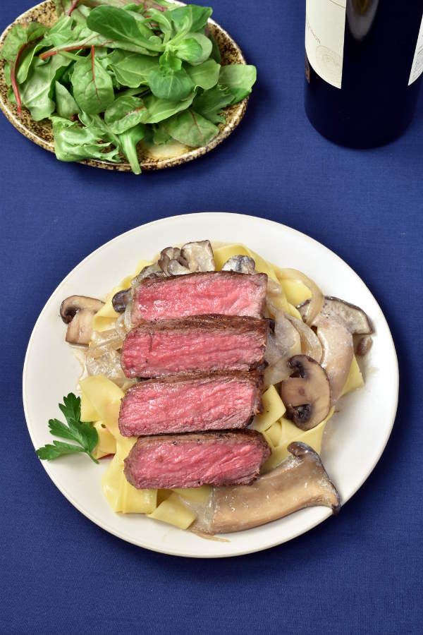 Steak Stroganoff | WednesdayNightCafe.com