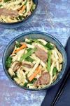 Beef Lo Mein | WednesdayNightCafe.com