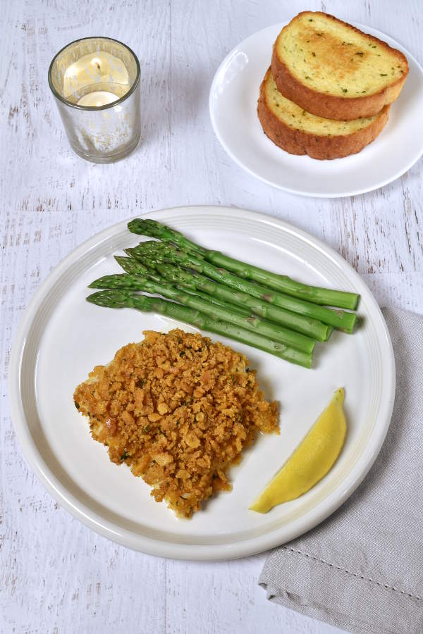 Boston Baked Cod with Ritz Cracker Crumbs | WednesdayNightCafe.com