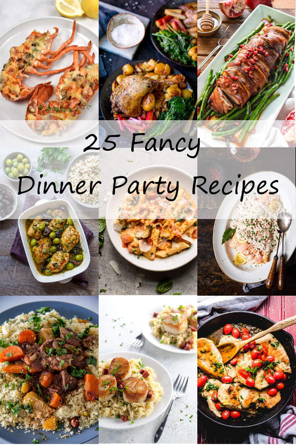 Dinner Party Recipes | WednesdayNightCafe.com