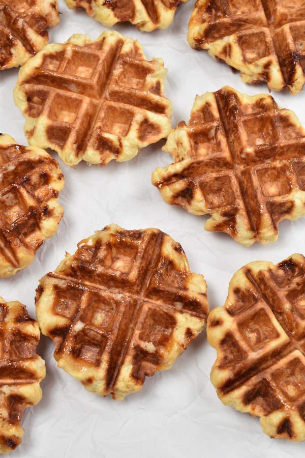 Liege Waffles| WednesdayNightCafe.com